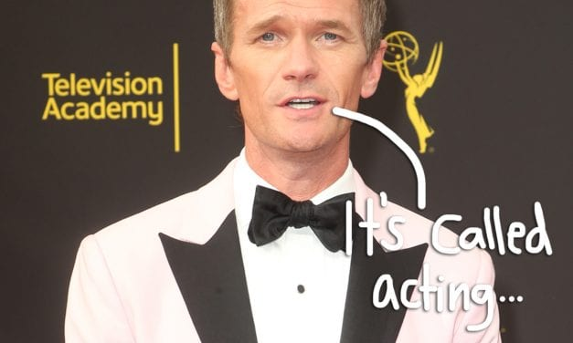 Neil Patrick Harris Pushes Back again On Idea That LGBT Stars Should Play LGBT Functions: ' Hire The Best Actor'